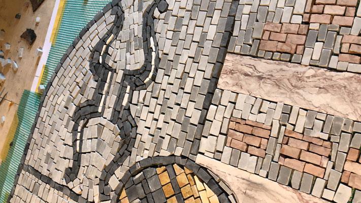 Mosaikarbeiten Wappen Deutschland