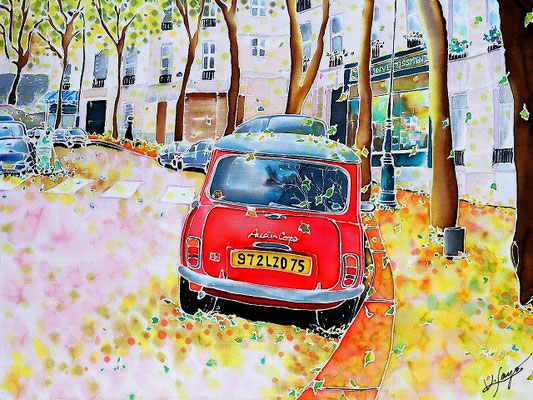 Avenue Junot in autumn SOLD