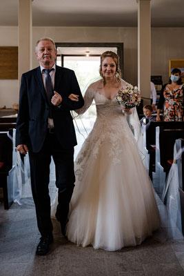 kirchliche Trauung - Einzug der Braut