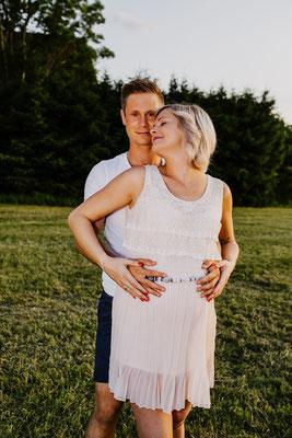 Schwangerschaftsshooting, Hochzeitsfotograf und Familienfotograf