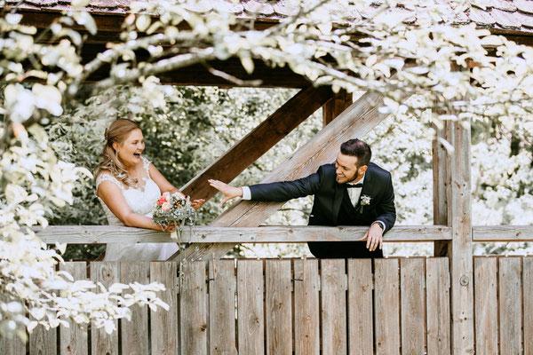 Brautpaarshooting - Brücke