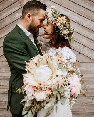 Hochzeitsfotograf aus Wien Schwechat - purelovestories - Vintage Hochzeit im Boho Stil