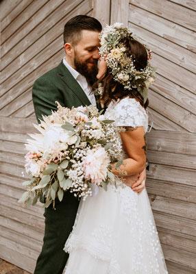 Brautpaar - Hochzeitsfotograf Cornelia Führer aus Wien Schwechat