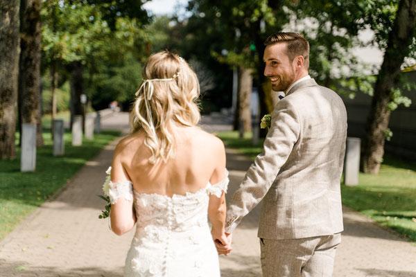 Hochzeitsfotos im Park - Donaueschingen