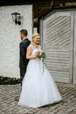 First Look Shooting - Brautpaar