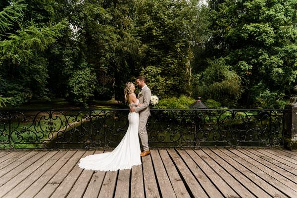 Brautpaarshooting im Park - Fotografin aus Wien