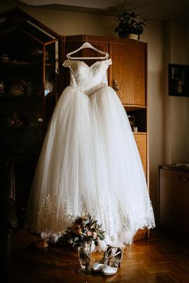 Pompöses Brautkleid - Villingen-Schwenningen