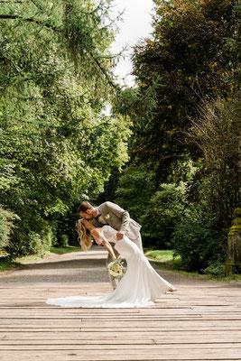 Brautpaarfotos in Donaueschingen - Fotograf Cornelia Führer