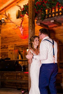 Der Hochzeitstanz von Steffi & Rene