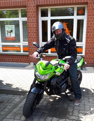 Julien Kurtius hat seinen A Führerschein seit dem 13.07.2018