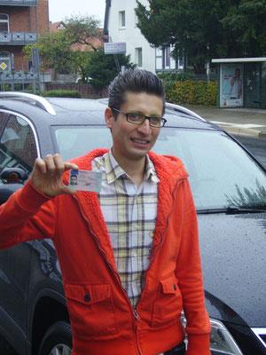 Morteza Hassanzada hat seinen B-Führerschein seit dem 11.10.13!