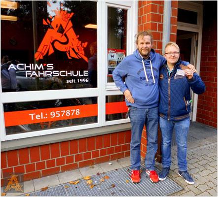 Christoph Fuhrmeister hat seinen B-Führerschein seit dem 13.11.15!
