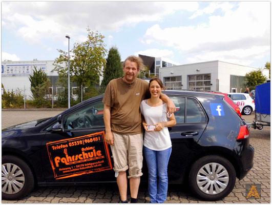 Annika Trautmann hat ihren B-Führerschein seit dem 06.07.15!