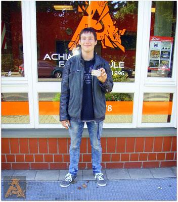 Stefan Dominik Kairies hat seinen B-Führerschein seit dem 02.10.15!