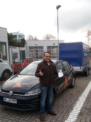 Adnan Mohamad hat seinen BE Führerschein seit dem 19.11.2018!
