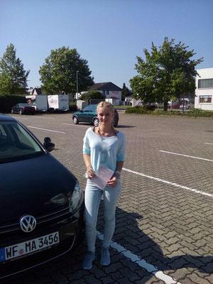 Vanessa Wojtala hat ihren B Führerschein seit dem 14.08.2017