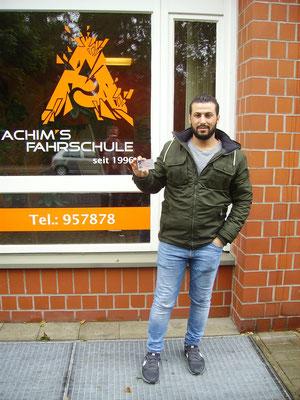 Ahmad Alali hat seinen B Führerschein seit dem 07.09.2018!
