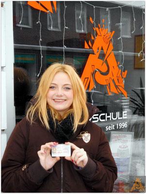 Laura Bringer hat ihren B-Führerschein seit dem 07.01.16!