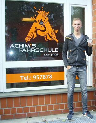 Jan Timme hat seinen B Führerschein seit dem 04.10.2017