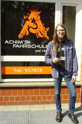 Nico Hielscher hat seinen B Führerschein seit dem 12.05.2017