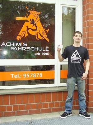 Florian Meyer hat seinen B Führerschein seit dem 08.07.2017