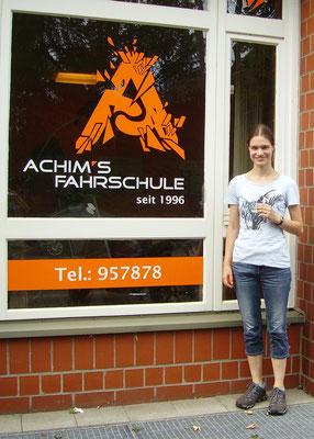 Esther Verhoeven hat ihren B Führerschein seit dem 13.08.2018