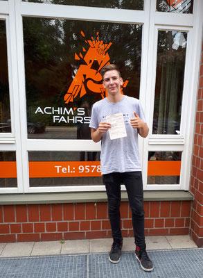 Fabian Krull hat seinen B Führerschein seit dem 13.07.2018