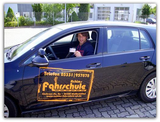 Carsten Graf hat seinen B-Führerschein seit dem 04.06.14!