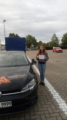Marie Banick hat ihren BE Führerschein seit dem 03.09.2019!