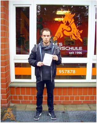 Marcin Golkowski hat seinen B-Führerschein seit dem 15.02.16!