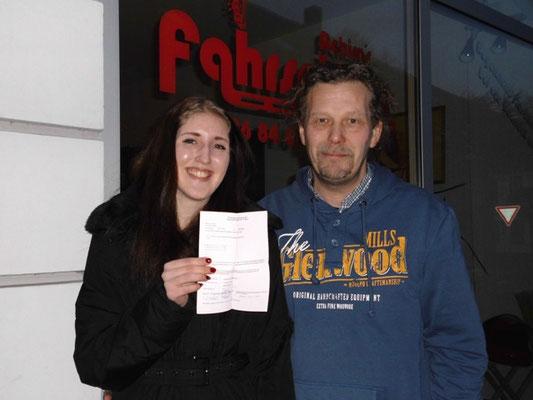 Kathrin Hanuschik hat ihren B-Führerschein seit dem 04.07.13!