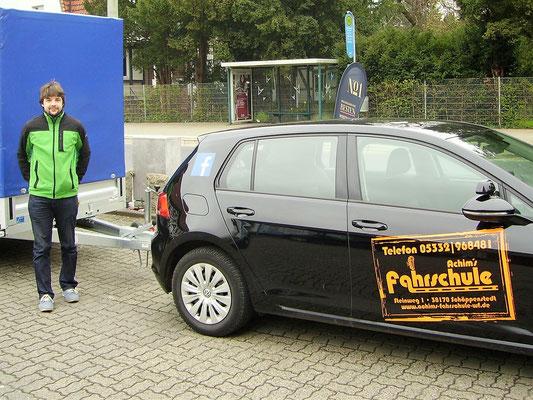 Toni Wilhelm hat seinen BE Führerschein seit dem 03.04.2017
