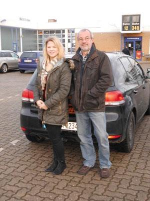 Katharina Zimmermann hat ihren B-Führerschein seit dem 05.12.13!