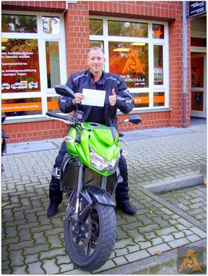 Karsten Roth hat seinen A-Führerschein seit dem 05.11.15!