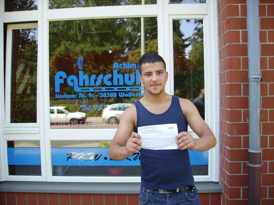 Kristijan Simoon hat seinen B-Führerschein seit dem 16.08.13!