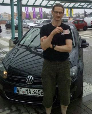 Michael Franke hat seinen B Führerschein seit dem 31.08.2017