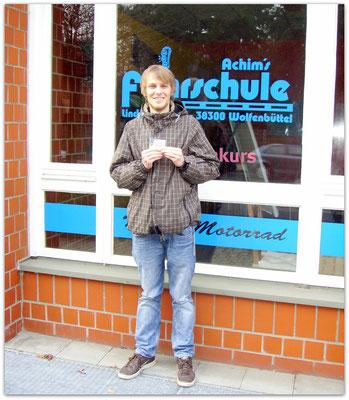 Stefan Gerecke hat seinen B-Führerschein seit dem 28.01.15!