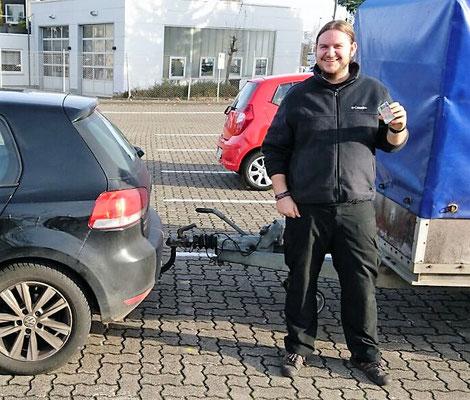 Maximilian Linde-Holmes hat seinen BE Führerschein seit dem 24.11.16