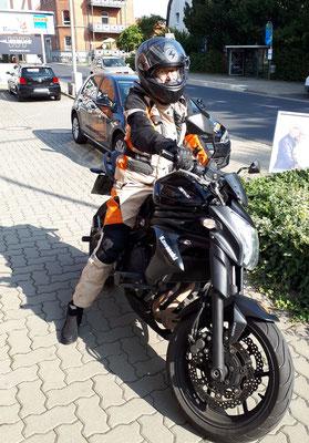 Karlotta Wannicke hat ihren A2 Führerschein seit dem 28.08.2018!