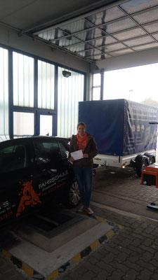 Sabrina Lörchner hat ihren BE Führerschein seit dem 22.10.2018!