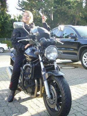 Lena Eberhard hat ihren A-Führerschein seit dem 30.09.13!