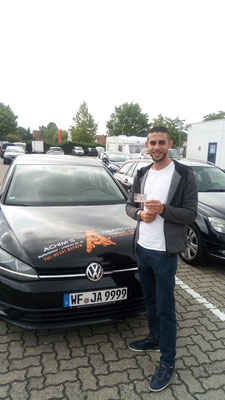 Mamoun Bader hat seinen B Führerschein seit dem 03.09.2018!