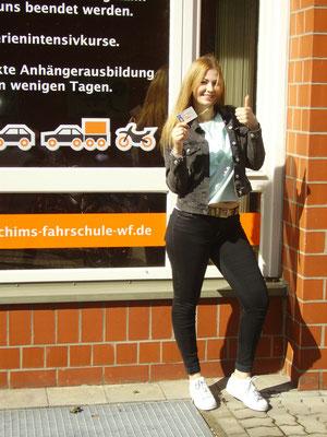 Evelyn stern hat Ihren B-Führerschein seit dem 15.08.16!