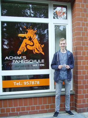 Maurits Giesecke hat seinen B Führerschein seit dem 03.09.2018!