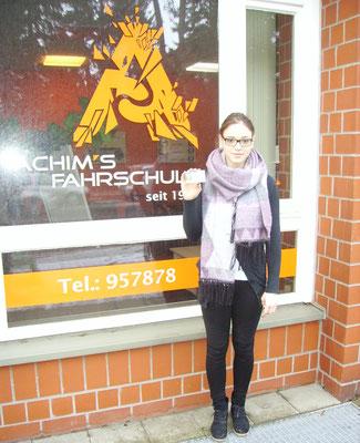 Ann-Christin hat ihren B Führerschein seit dem 17.01.2018