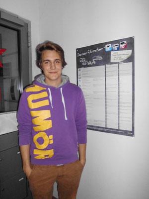 Roman Kasten hat seinen B-Führerschein seit dem 28.11.13!