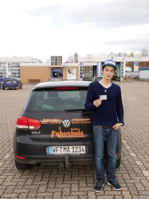 Senol Seferi hat seinen B-Führerschein seit dem 14.11.13!