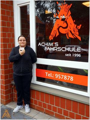 Sabrina Buchert hat ihren B-Führerschein seit dem 05.02.16!