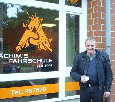 Willi Scherler hat seinen A Führerschein seit dem 09.11.2018!