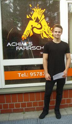 Jannes Meier hat seinen B Führerschein seit dem 04.06.2018